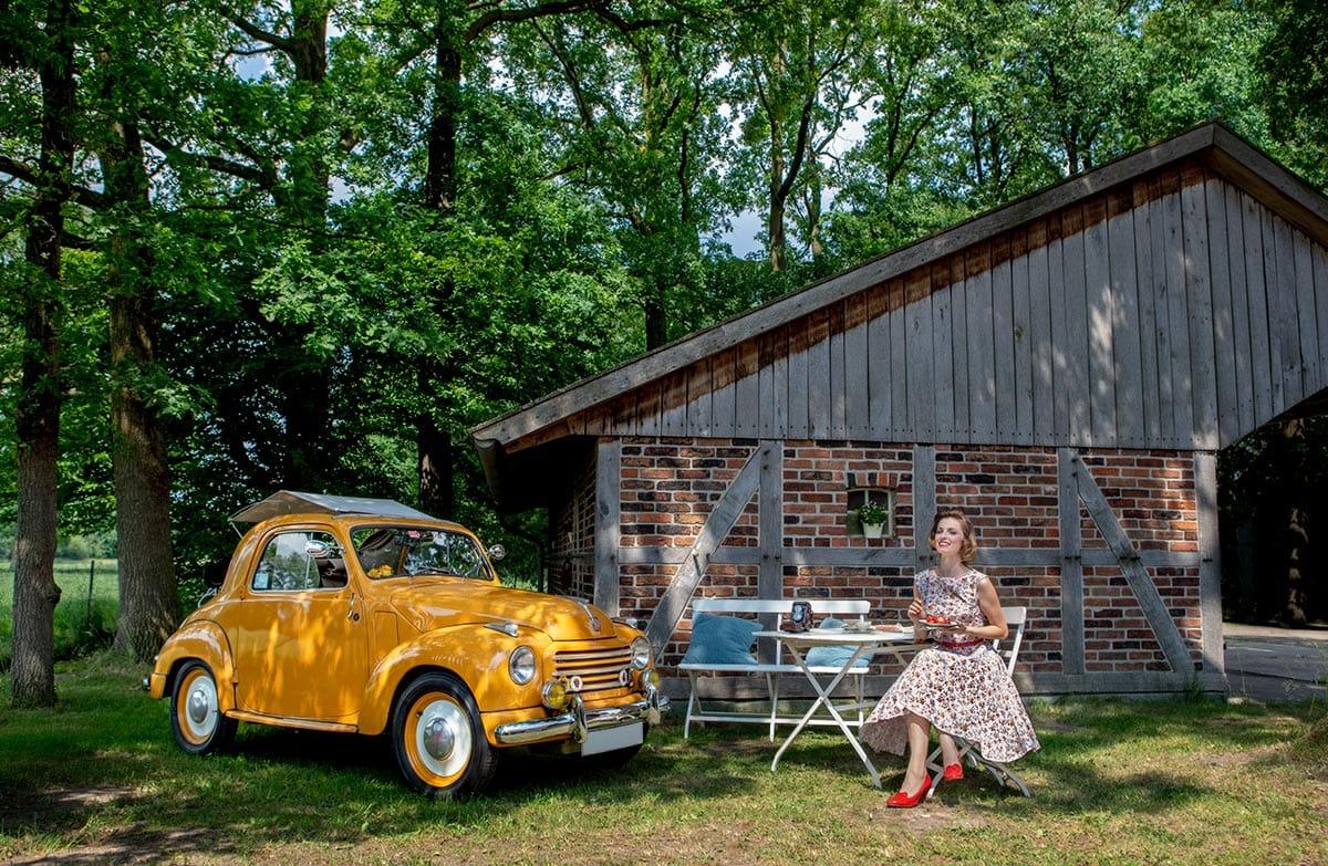 Picknick mit einem Topolino – Autofotograf Dortmund