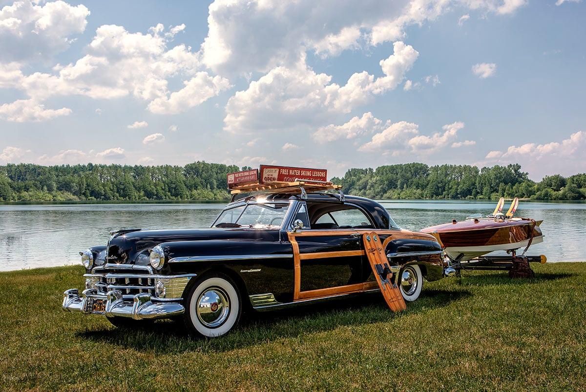 Ausflug an den See mit einem Chrysler Town & Country – Autofotograf Dortmund