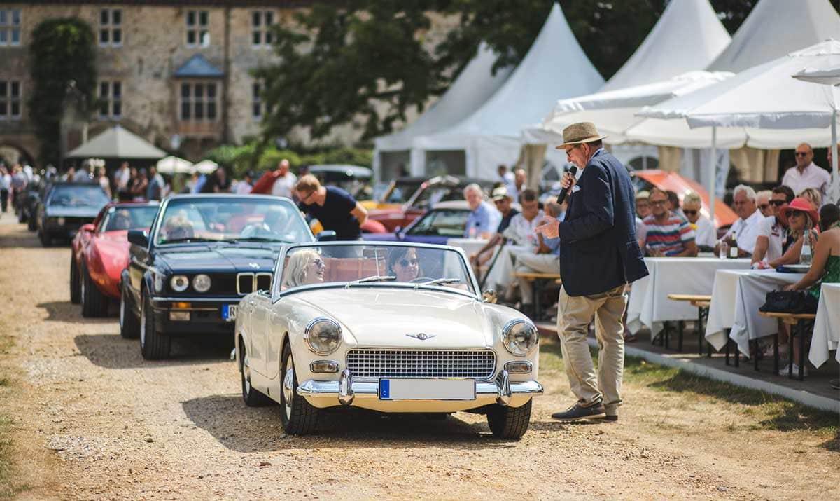Oldtimer-Veranstaltung am Schloss Lembeck – Autofotograf Dortmund