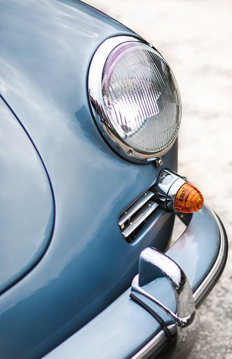 Ein Porsche Oldtimer – Autofotograf Dortmund