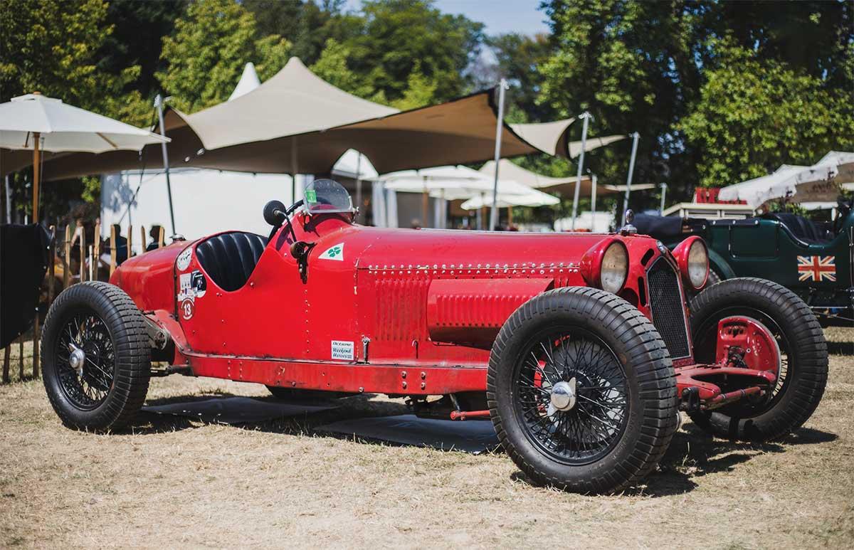 Ein alter Lancia bei den Classic Days am Schloss Dyck – Autofotograf Dortmund