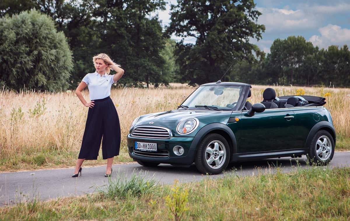 Ausflug mit einem Mini One Cabrio – Autofotograf Dortmund